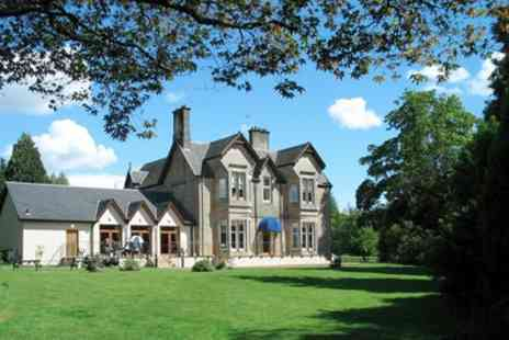 Strathblane Country House Hotel  - One or Two Nights stay For Two With Breakfast With Option For Dinner  - Save 0%
