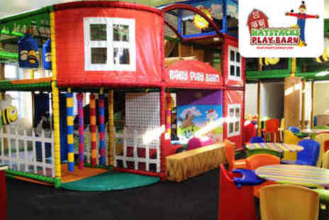 Haystack Play Barn - Entrance to Soft Play Centre for Four - Save 50%
