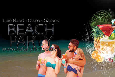 Flirt - Girls Night Out Beach Party Ticket including a cocktail and buffet on arrival   - Save 50%