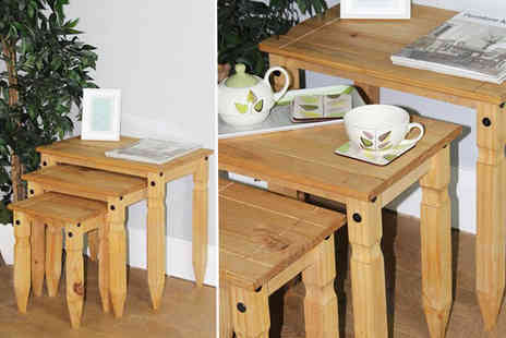 Capital Stores  - Set of three nesting tables - Save 46%