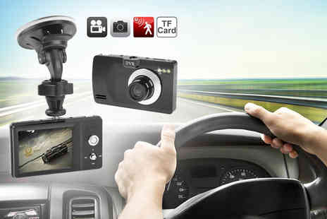 Eurosfield Maptrak  - Car digital video recorder with an LCD screen - Save 76%