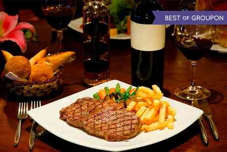 Curio - Steak Meal with Sides and an Optional Bottle of Wine for Two or Four - Save 0%