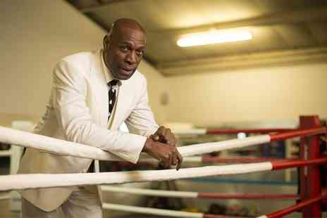 The Community Giants - An Evening with Frank Bruno Ticket and a Buffet Meal for One or Two On 20 March - Save 46%