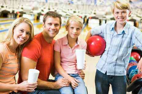 Ocean Bowl - Bowling Session with Drinks for Four Adults or a Family of Up to Four - Save 46%