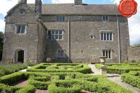 Llancaiach Fawr Manor - Afternoon Tea Plus Llancaiach Fawr Manor Tour for Two - Save 40%