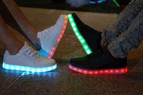 British goody - LED Light Up Trainers Available in Two Colours - Save 76%