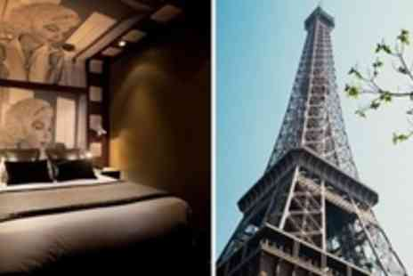 Platine Hotel - One Night Stay For Two With Breakfast and Hammam in Paris - Save 55%