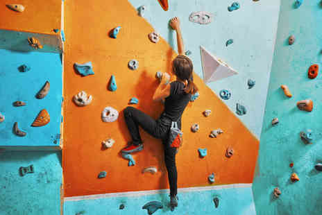 Activity Superstore - Indoor rock climbing experience for two   - Save 0%