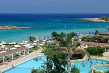 Capo Bay - Five Night Stay For Two With Three Course Champagne Dinner, Massage and Breakfast in Cyprus - Save 59%