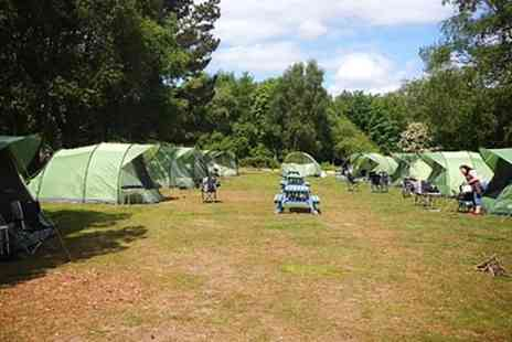 EazyCamp - One Night Self Catering Camping For Up to 2, 4 or 6 With Tent and Equipment Provided - Save 0%