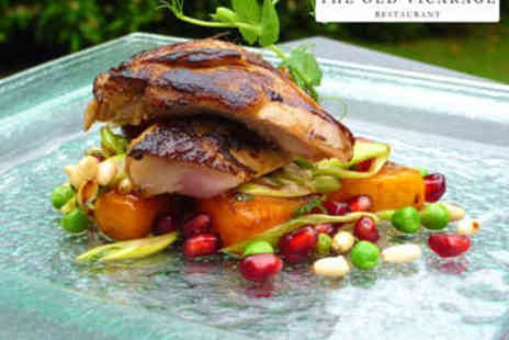 The Old Vicarage - Five Course Fine Dining for Two - Save 0%