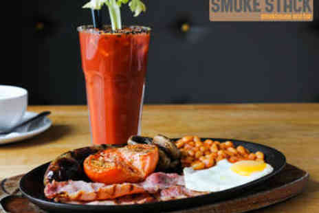 Smoke Stack - Brunch with Bloody Mary Each for Two - Save 56%