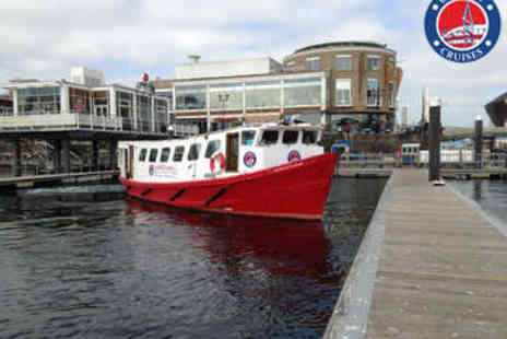 Cardiff Cruises - Sightseeing Boat Trip for Two - Save 50%