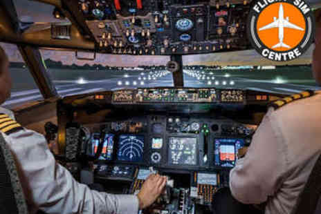 Flight Sim Centre - Flight Simulator Experience - Save 0%