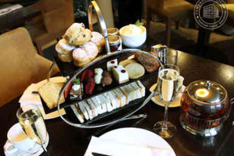 Townhouse Hotel  - Afternoon Tea with Prosecco for Two - Save 53%