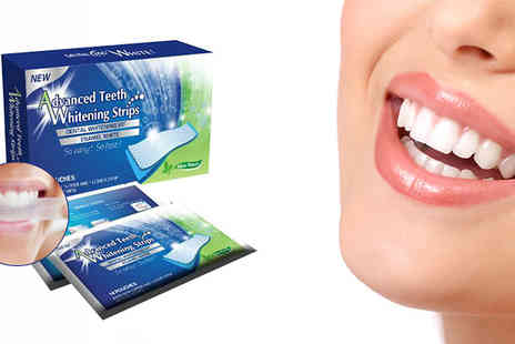 Bentleys Bargain Warehouse - 28 or 56 Teeth Whitening Strips - Save 33%