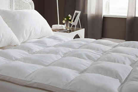 Gorgeous Selection - Goose Feather and Down Mattress Toppers - Save 57%