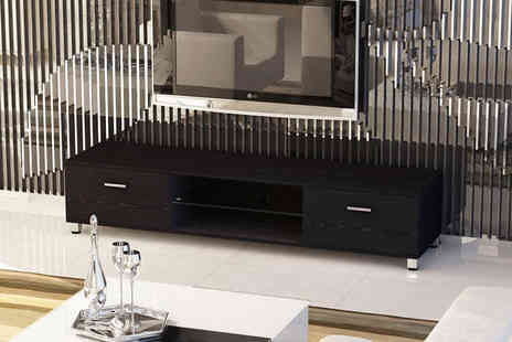 Limitless Base - High gloss contemporary TV stand and cabinet - Save 71%