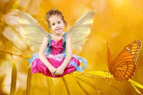 The Fairy School - One Hour Fairy Tale Photoshoot with Refreshments and Activities for Up to Four Children  - Save 0%