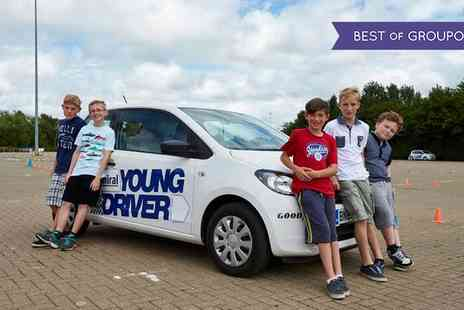 Young Driver - 30 Minute or One Hour Driving Lesson for Under 17s - Save 22%