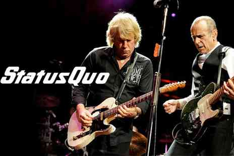 Live Promotions Events - Status Quo Live On 23 July  - Save 21%