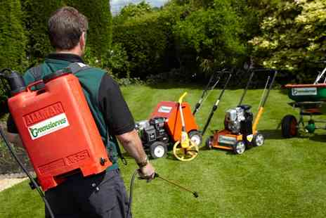 Greensleeves Lawn Care - 100, 200 or 400 Square Metres Moss Treatment - Save 58%