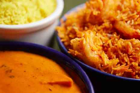 The Curry Place - Three Course Indian Meal with Sides for Two or Four - Save 66%