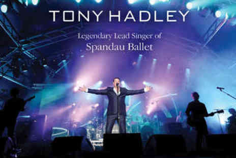Stowe - Tony Hadley in Concert Ticket - Save 0%