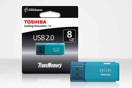 Moby Memory - Toshiba 8GB USB Flash Drive - Save 0%
