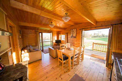 Wall Eden Farm - Two Nights Somerset Log Cabin Escape with Full Body Massage for Two  - Save 0%