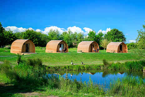Wall Eden Farm - Two Nights Somerset Escape for Two in The Old Oak Glamping Pod  - Save 0%