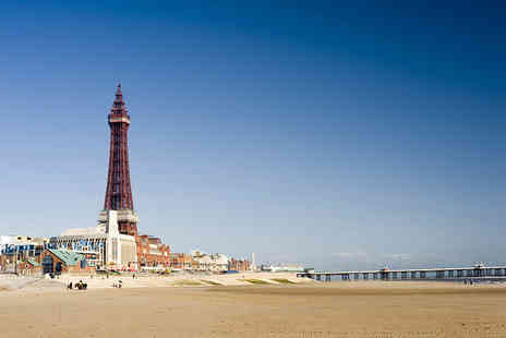 South Beach Hotel - Two nights Blackpool break for two including breakfast and lunch - Save 38%