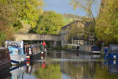 Lancashire Canal Cruises - 90 minute boat cruise for two including cheese and wine - Save 55%