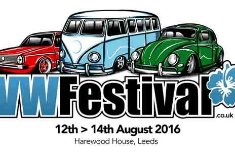 VW festival - VW Festival Adult Ticket on 13 August  - Save 27%
