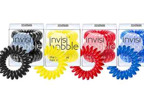 Crazy Kangaroo - Invisibobble Traceless Hair Rings in Choice of Style With Free Delivery - Save 0%