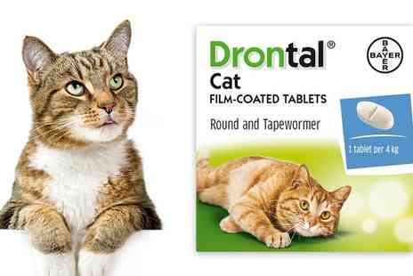 Medicines2You - Drontal Cat Worming Tablet Multi Packs With Free Delivery - Save 0%