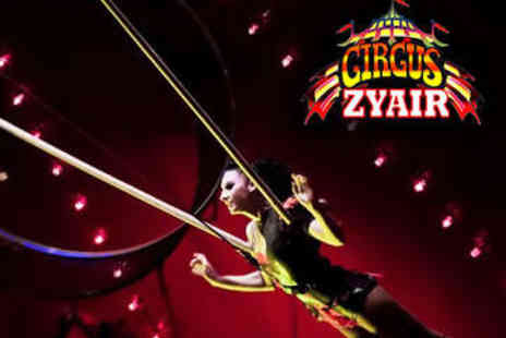 Circus Zyair - Front View Ticket to Circus Zyair At 5 Locations - Save 55%