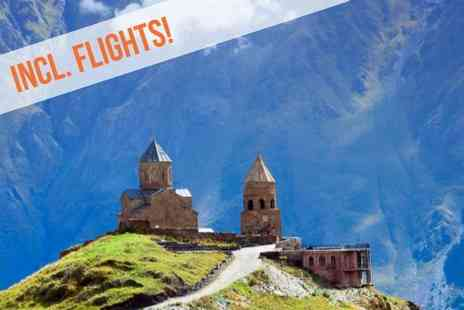 Georgia Round Trip - Five nights Stay in Tbilisi & 2 nights in Batumi With Return flights from the UK Includes 2 incredible day excursions and All transfers in Georgia included - Save 0%