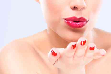 Sugar Hair and Beauty - Gel Manicure or Pedicure or Both - Save 35%