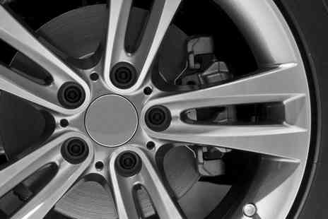 Vehicle Smart - Alloy Refurbishment with Tyre Check for Up to Four Wheels - Save 54%