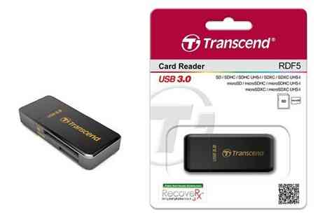 Crazy Kangaroo - Transcend Information USB 3.0 Card Reader With Free Delivery - Save 0%