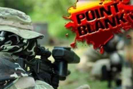 Point Blank Paintball - Paintballing For Six With 100 Paintballs Each - Save 93%