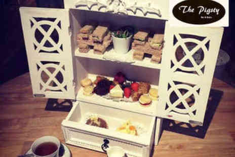 The Pigsty Bar Bistro - Afternoon Tea for Two - Save 45%