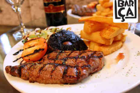 Barca Bar and Restaurant - Two Course Meal for Two with a Bottle of Wine - Save 67%