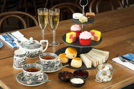 Belgravia Hotel Group - Ssparkling afternoon tea for two with sandwiches, scones, cakes and Prosecco  - Save 63%