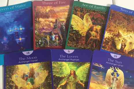 Angel Guidance - Email or 20, 30 minute Phone or Skype Angel Tarot Card Reading  - Save 73%