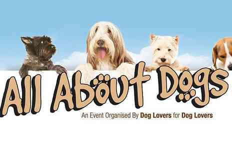 Aztec Events - Entry to All About Dogs For Two - Save 53%