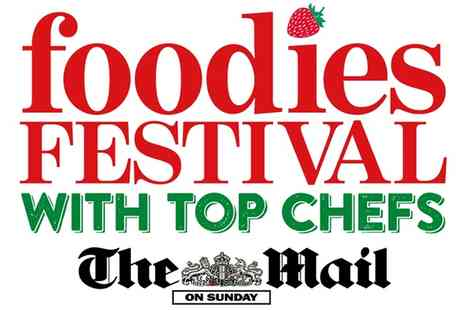 Foodies Festival - Foodies Festival Ticket for Up to Four from  13 to 15 May  - Save 43%