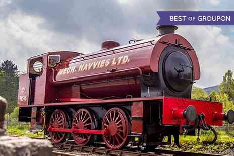 Blaenavon Heritage Railway - Steam Train Tickets for Two Adults or Family  - Save 40%