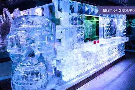 Icebar London - ICEBAR Experience Plus a Second Cocktail in the Warm Bar  - Save 39%